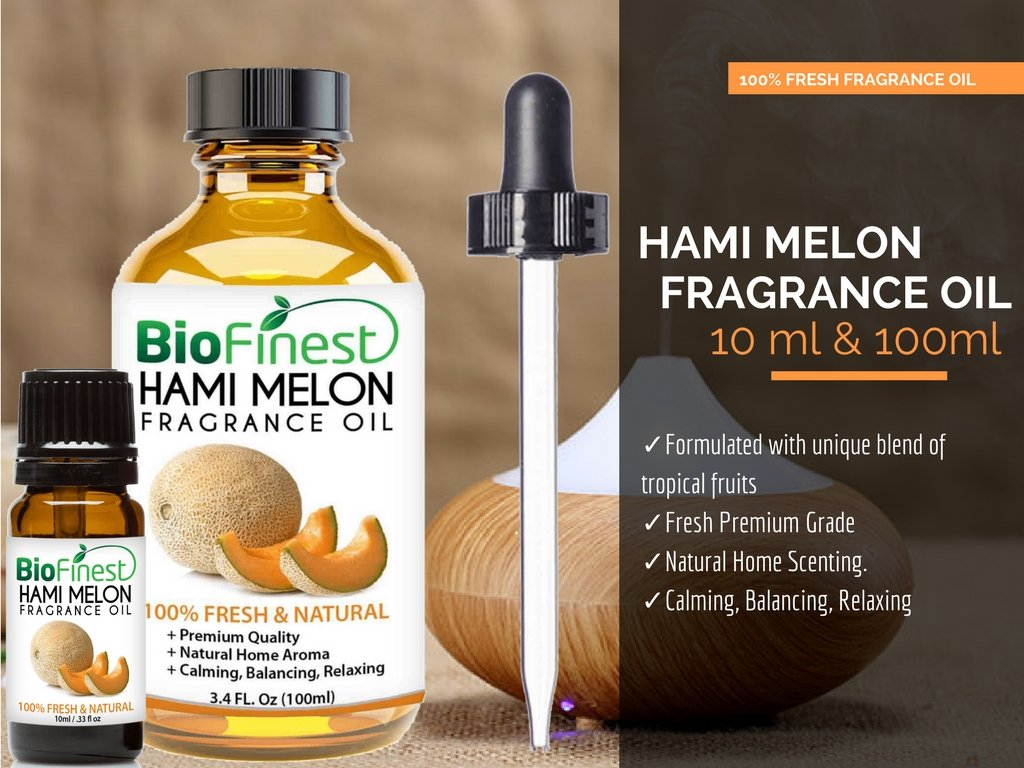 Amazon.com: BioFinest Snow Melon (Hami Melon) Fragrance Oil - 100% Pure Fruit - for Home Aromatherapy, Essential Oil Diffuser, Air Refresher, Skin Hair Care ...