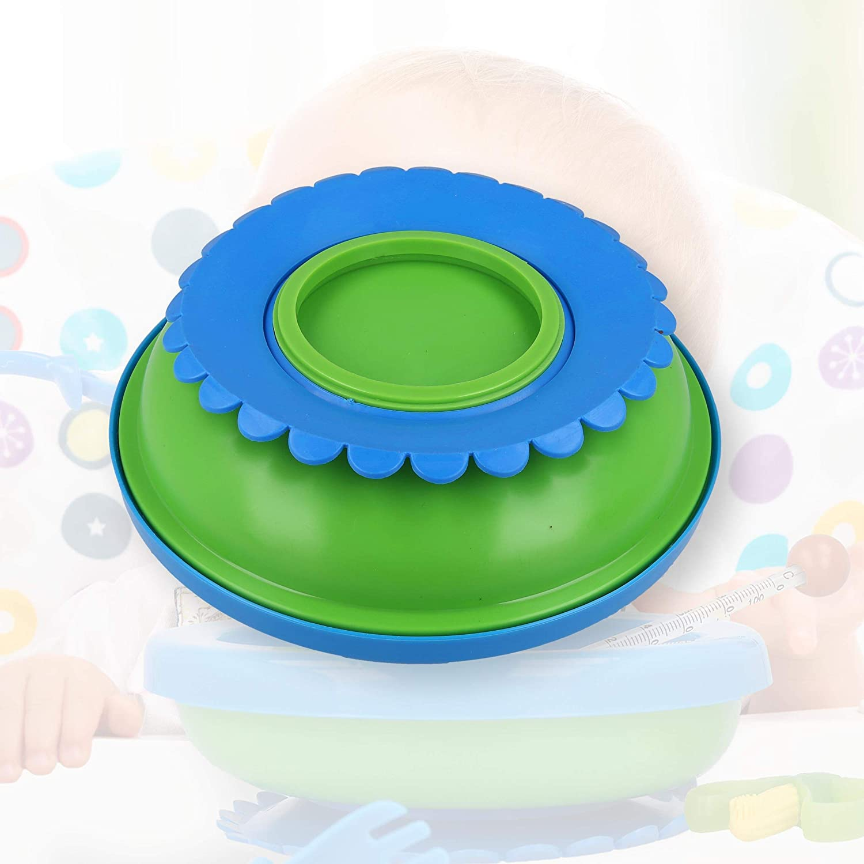 Warmhalteteller Besteckset Beißring 2 Stück Set Baby Thermoteller Babyteller