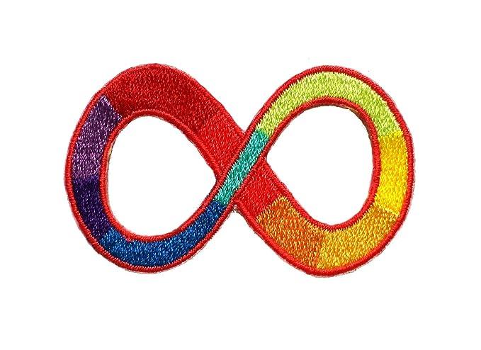 Amazon spina bifida awareness ribbon embroidered sew iron on