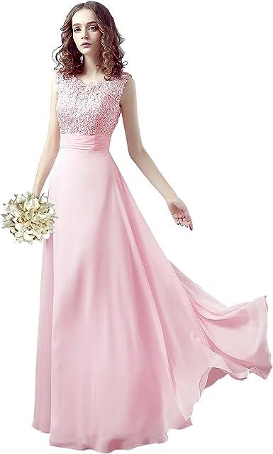 Angel Star High Fashion Long Bridesmaid Dresses Sleeves Sheath Maid Of Honor Wedding Party Amazon Co Uk Clothing