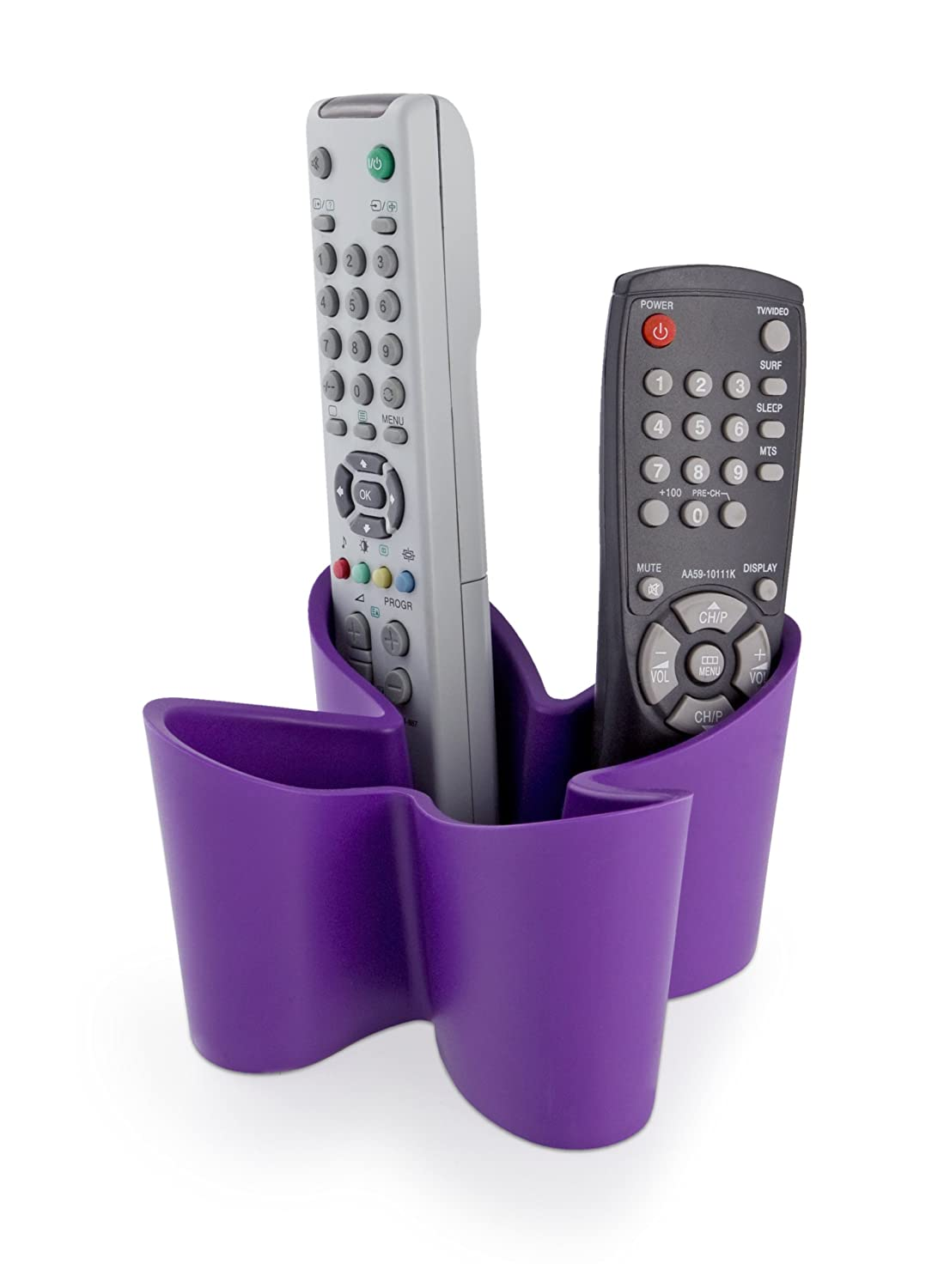 j-me original design Non Slip Rubber Cozy Remote Control Tidy, Purple 5060105290046