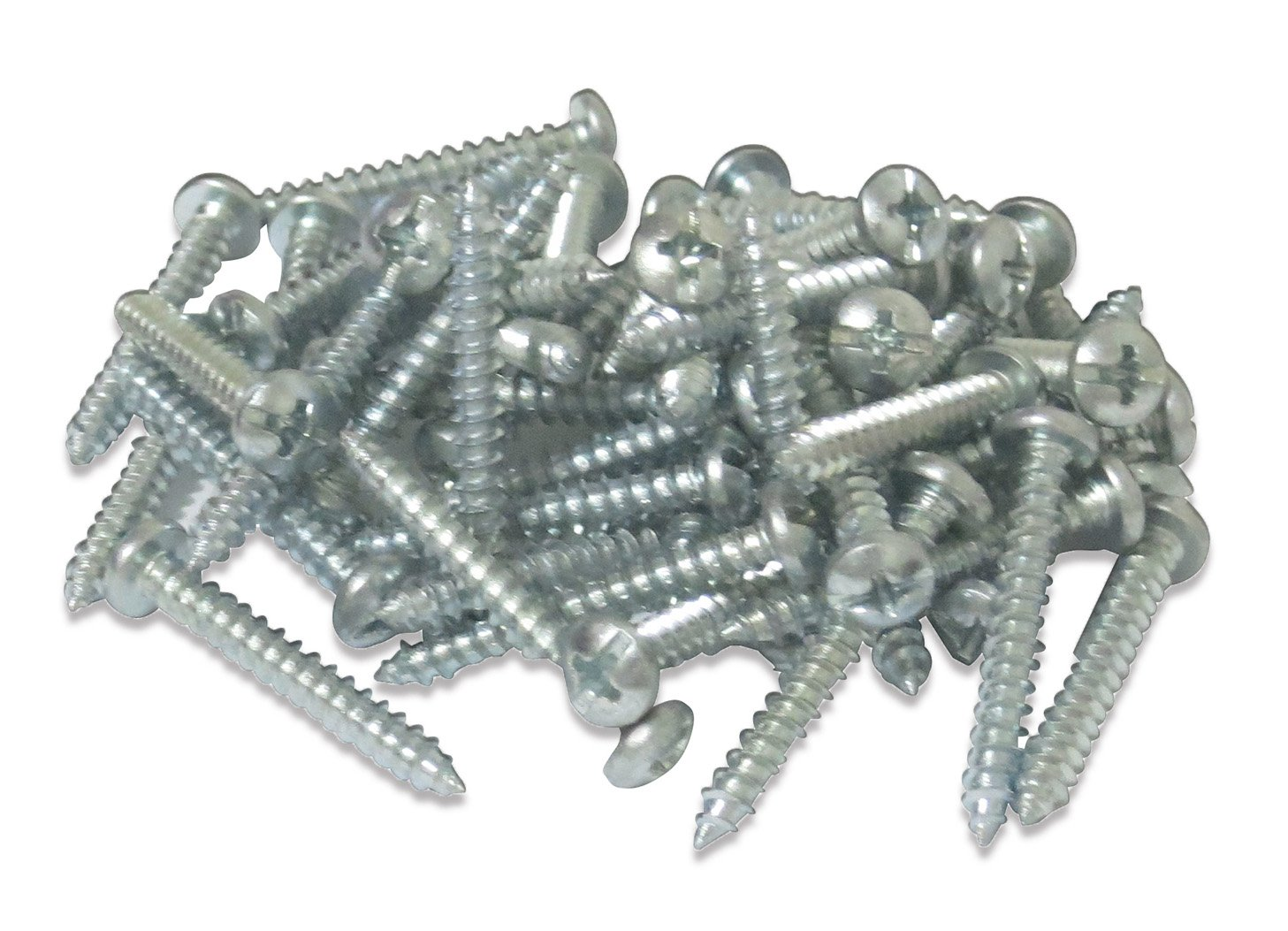 Premium Quality Self-Drilling Drywall Zinc Anchors with Screws Kit, 40 Pieces