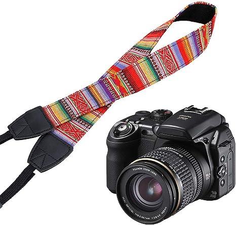 Correa de Hombro para cámara réflex Digital, Correa para el Cuello ...