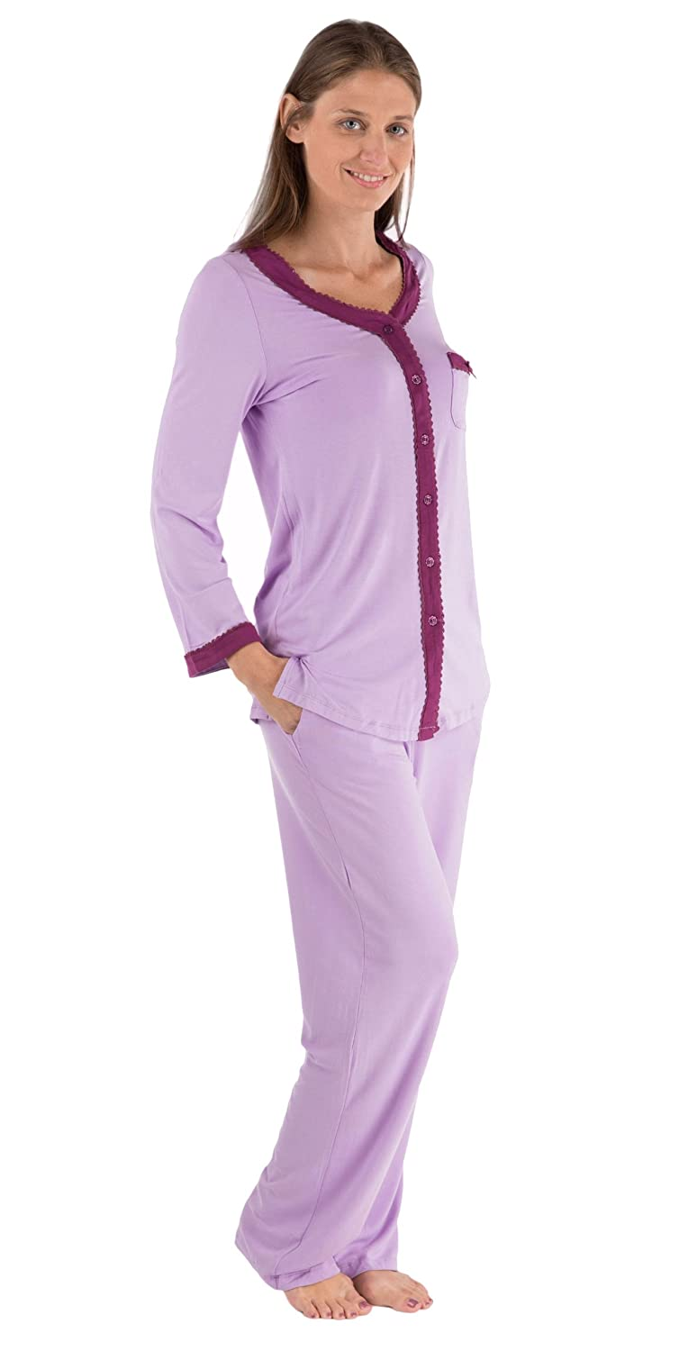 Texere Women's Long Sleeve Pajama Set - Beautiful Sleepwear for Her WB9995