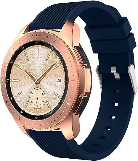 XIHAMA Correa Compatible con Samsung Galaxy Watch 42mm, Recambio ...
