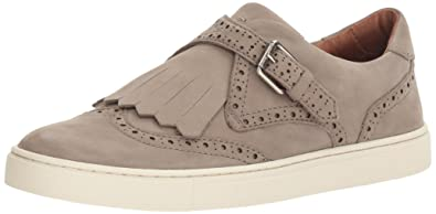 FRYE Women's Gemma Kiltie Fashion Sneaker, Grey, ...