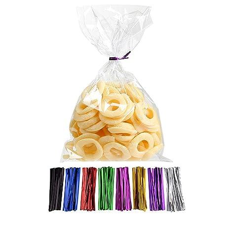 Amazon.com: Laojbaba Bolsas de celofán para dulces (6 ...