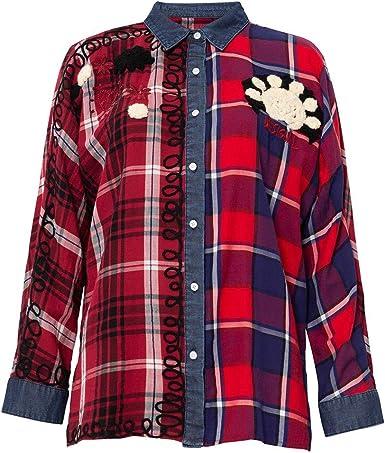 Desigual Camisa Nerea Rojo XS Rojo…: Amazon.es: Ropa y accesorios