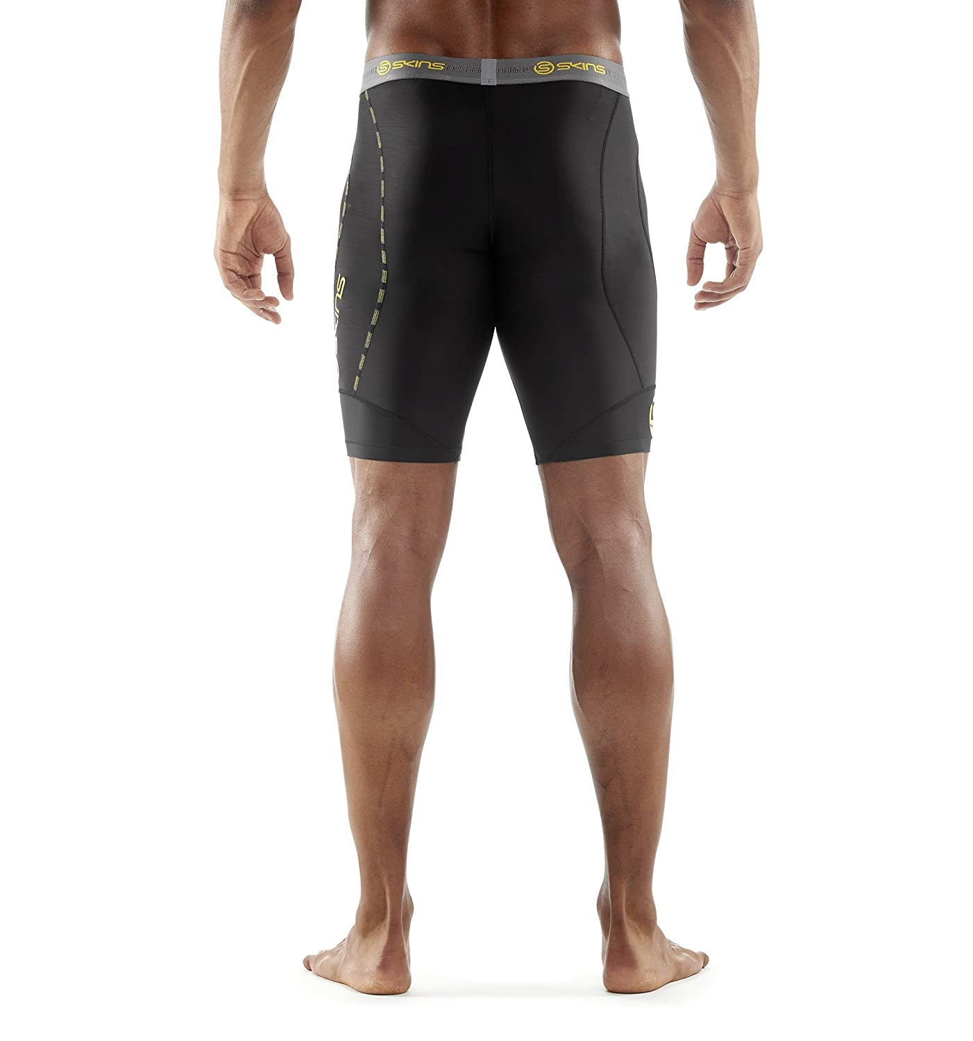 777377afea46f Amazon.com : SKINS Mens DNAmic Men's Compression Half Tights/Shorts :  Clothing