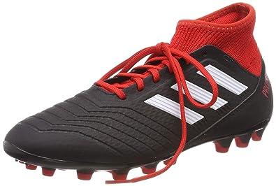 differently 3e663 c0010 adidas Herren Predator 18.3 AG Fußballschuhe Schwarz (Negbás Ftwbla Rojo 001)  39