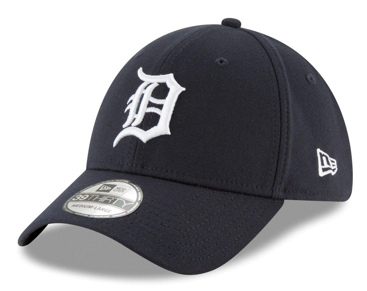 New Era Detroit Tigers stretch Fit Basic MLB Cap navy