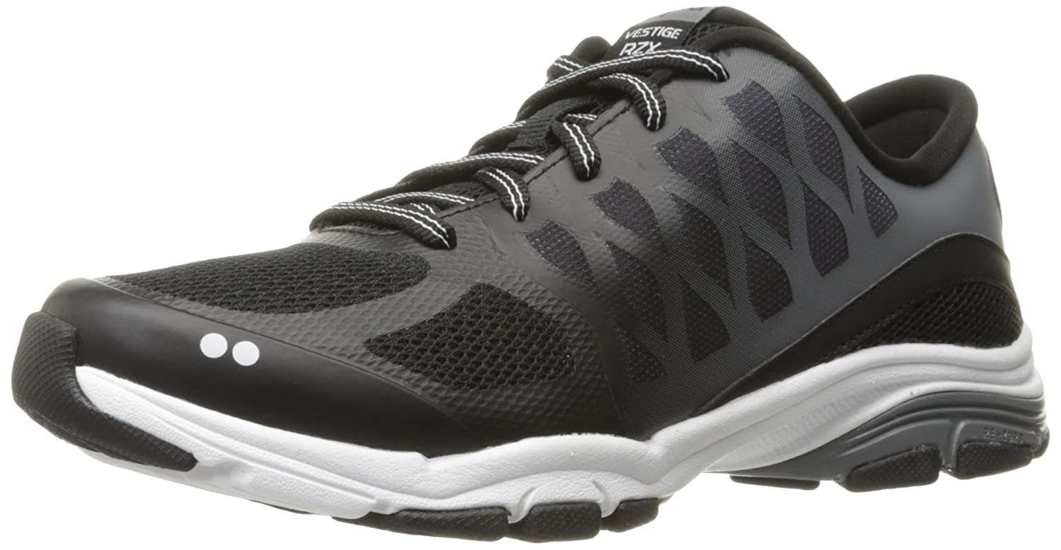 Ryka Women's Vestige RZX Cross-Trainer Shoe B01KW056IS 10.5 B(M) US|Black/Grey