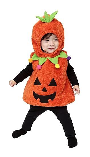 35d83234dbf76b マシュマロパンプキン パンプキン かぼちゃ コスプレ ハロウィン 着ぐるみ ベビー 80