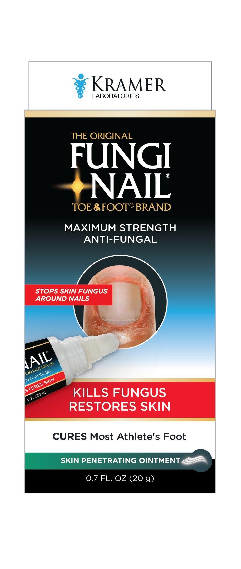 Amazon.com: Fungi-Nail Anti-Fungal Solution 1 FL. OZ. Kills Fungus ...