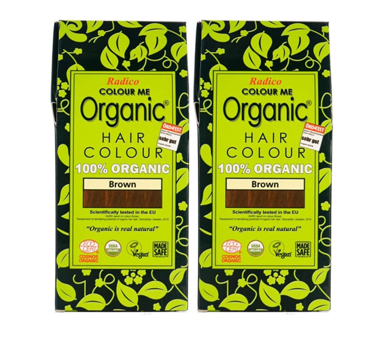 Radico 100% Organic Hair Color - Best Herbal Hair Colour In India