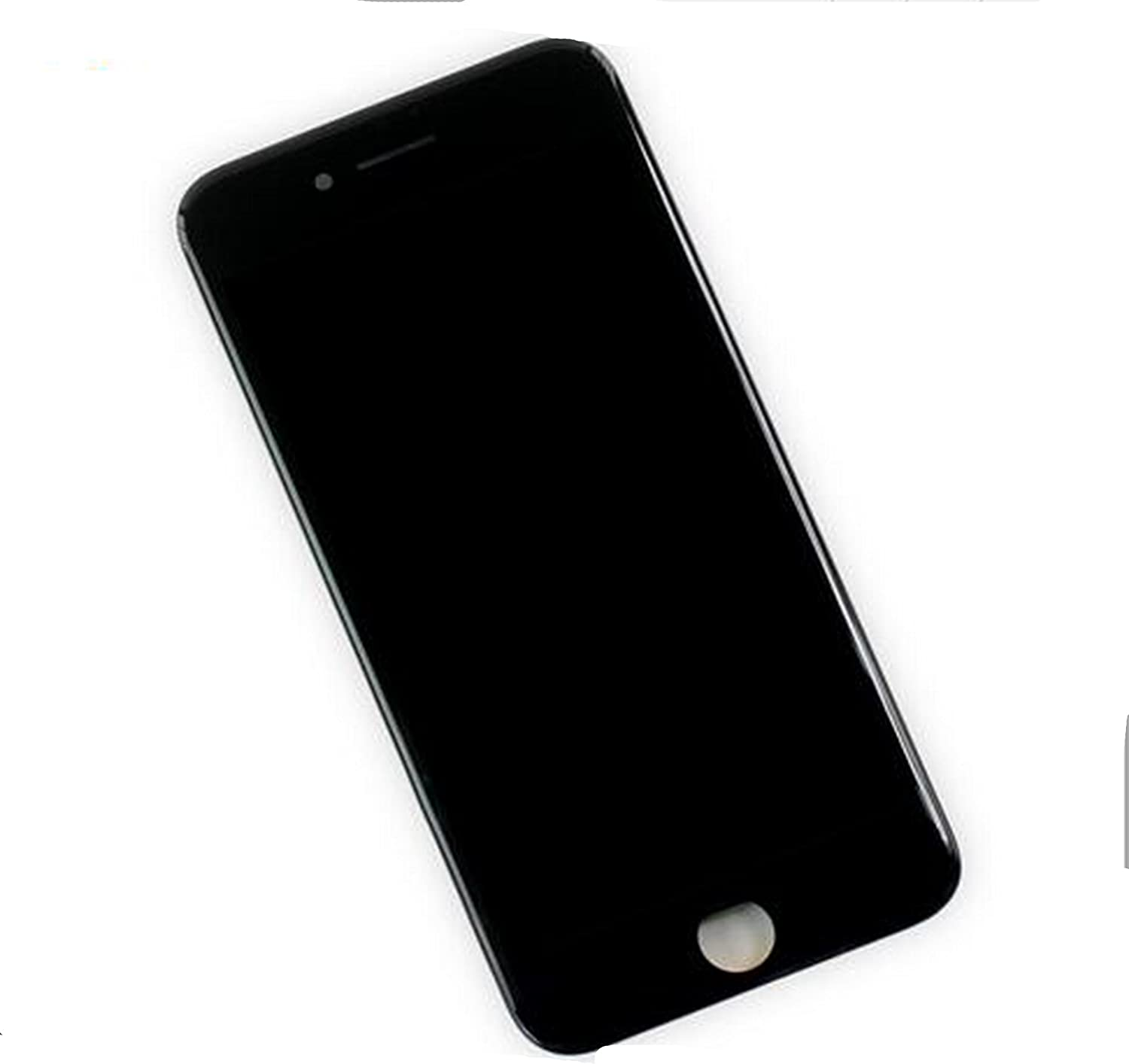 Black for iPhone 7 4.7 inch LCD Screen Replacement Full digitizer Assembly Frame Set Front Glass 3D Touch Display Required Tool kit