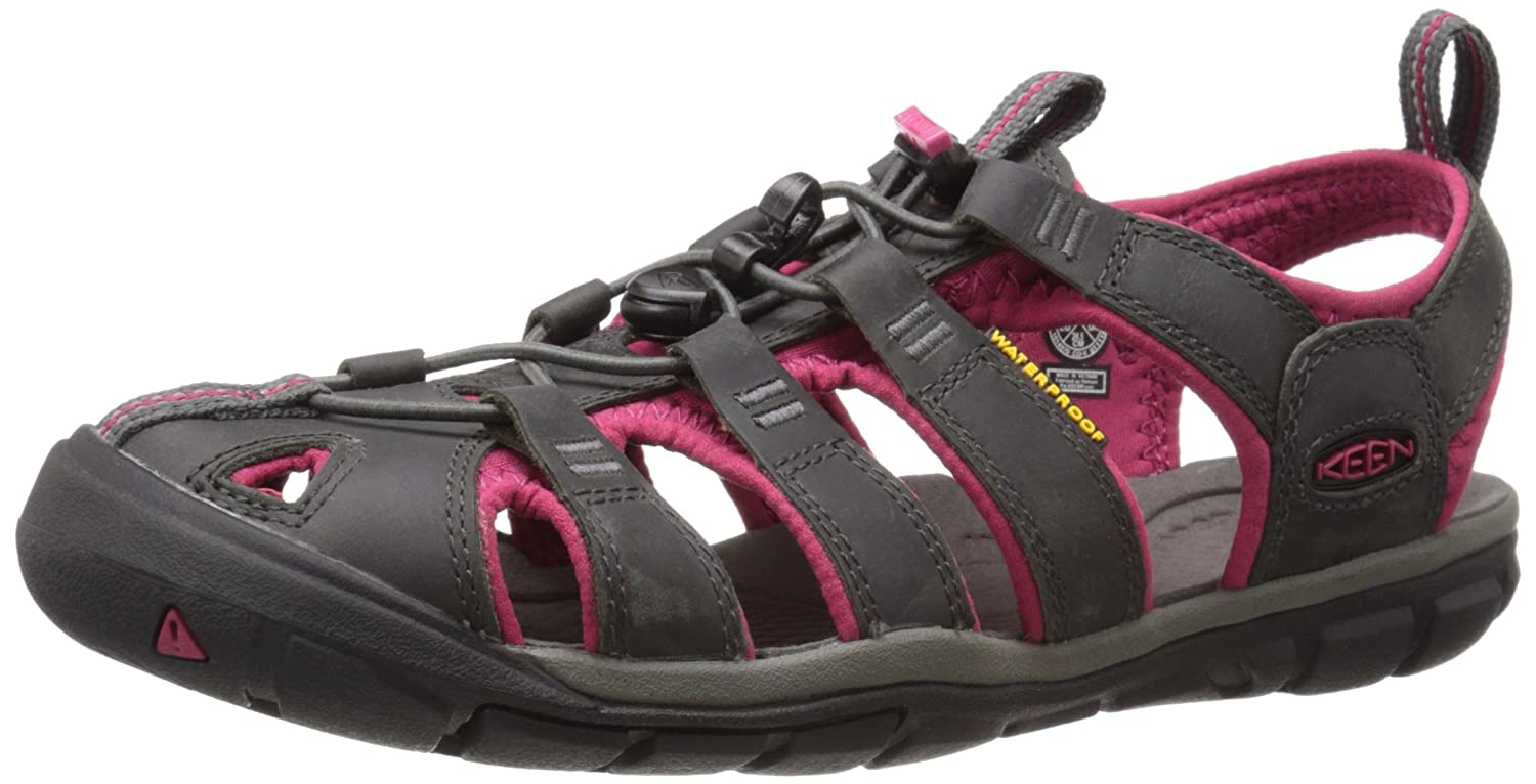 Keen Clearwater CNX Leather Women's Sandalia Ias para Caminar - SS18 1014370-MGT