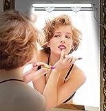 Emotionlite Vanity Light LED Make Up Light Bathroom Vanity Mirror Light Touch Light Body Cosmetic Mirror Front Light Kit with 3-Level Brightness Dimmable, USB Powered, Portable & Durable, White, 6000K