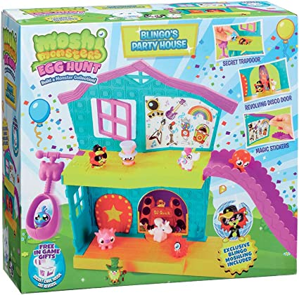 Amazon Com Moshi Monsters Mhn01000 Toys Toys Games