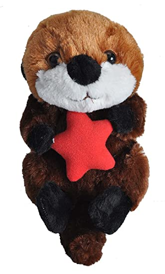 Amazon Com Wild Republic Sea Otter Plush Stuffed Animal Plush Toy