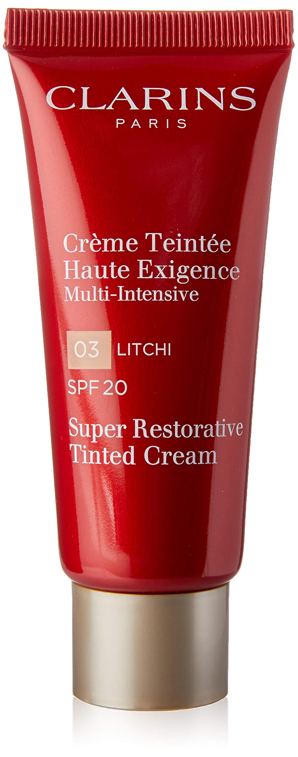 Clarins Super Restorative Tinted Cream SPF 20, No. 03 Litchi, 1.4 Ounce by Clarins (Image #2)