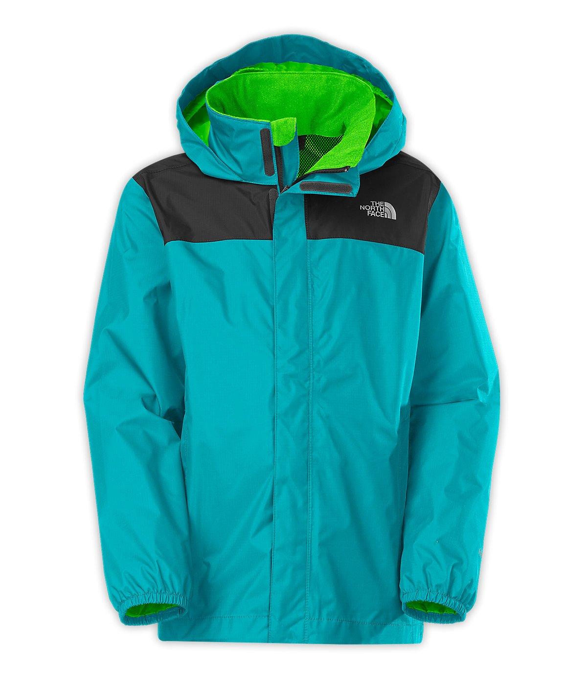 The North Face Kids Boy's Resolve Reflective Jacket (Little Kids/Big Kids) Enamel Blue LG (14-16 Big Kids)