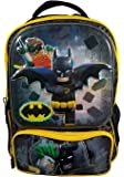 "Lego Batman Backpack 3D Molded - 16"" Officially Licensed Lego Backpack"