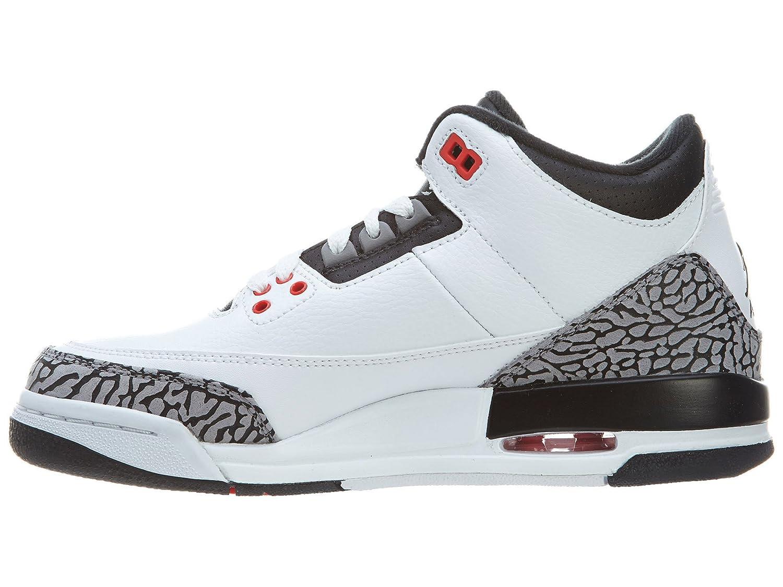 Air Jordan 3 Retro (blanco / Negro-lobo Gris Infrarrojo 23) Cómo Son La Mayoría De Los Nutrientes lwzuBoMm