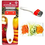 Kinpira Julienne Peeler Stainless Steel Vegetable Fruit Potato Cutter Slicer New