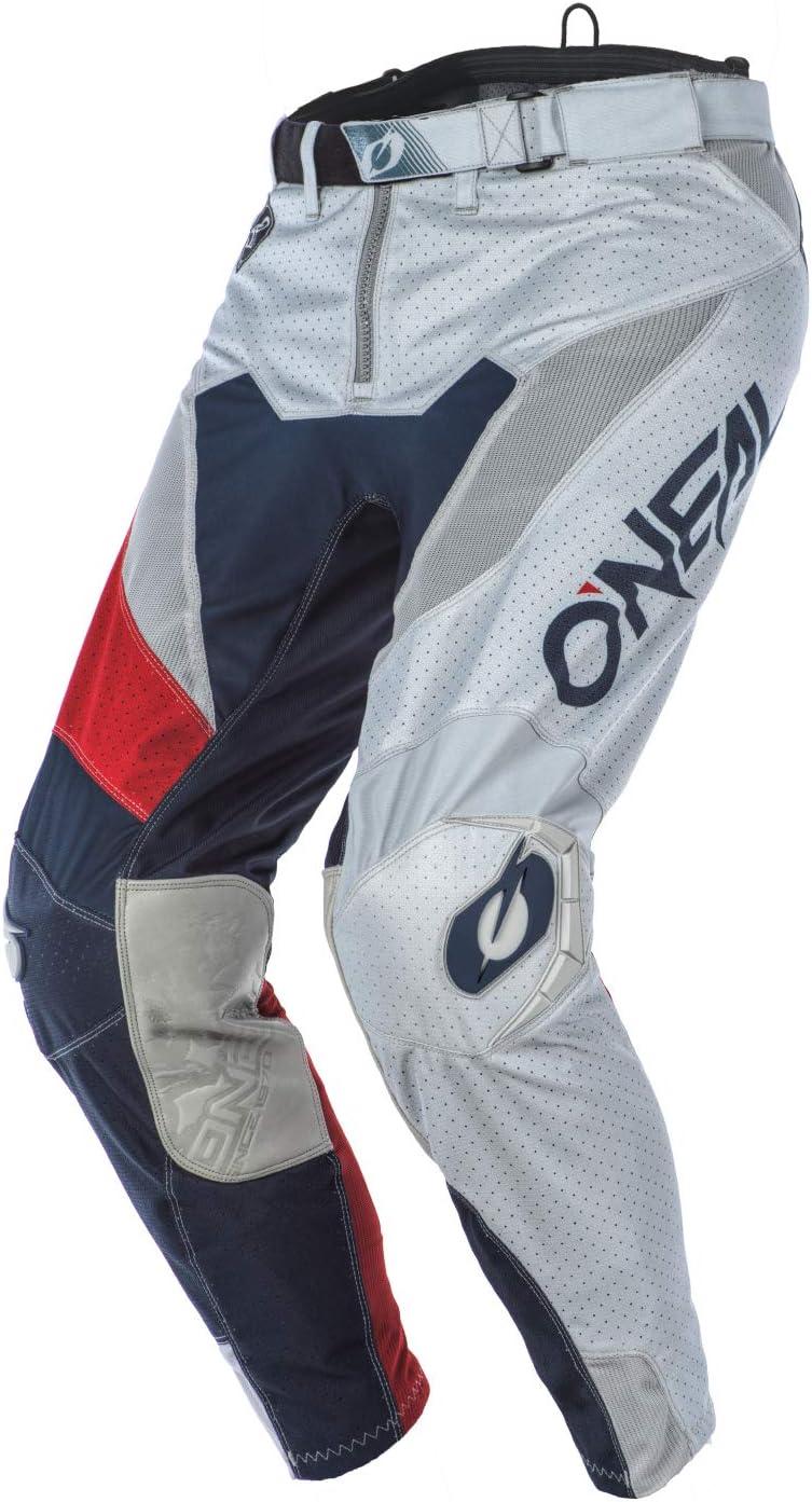 ONEAL Airwear Freez MX DH MTB Pant Hose lang grau//blau//rot 2020 Oneal