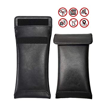 Power 2 Car Key Signal Blocker Pouch Case Protector For Keyless Fobs And Remote