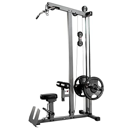 Amazon.com : XMark Lat Pulldown and Low Row Cable Machine XM-7618 ...