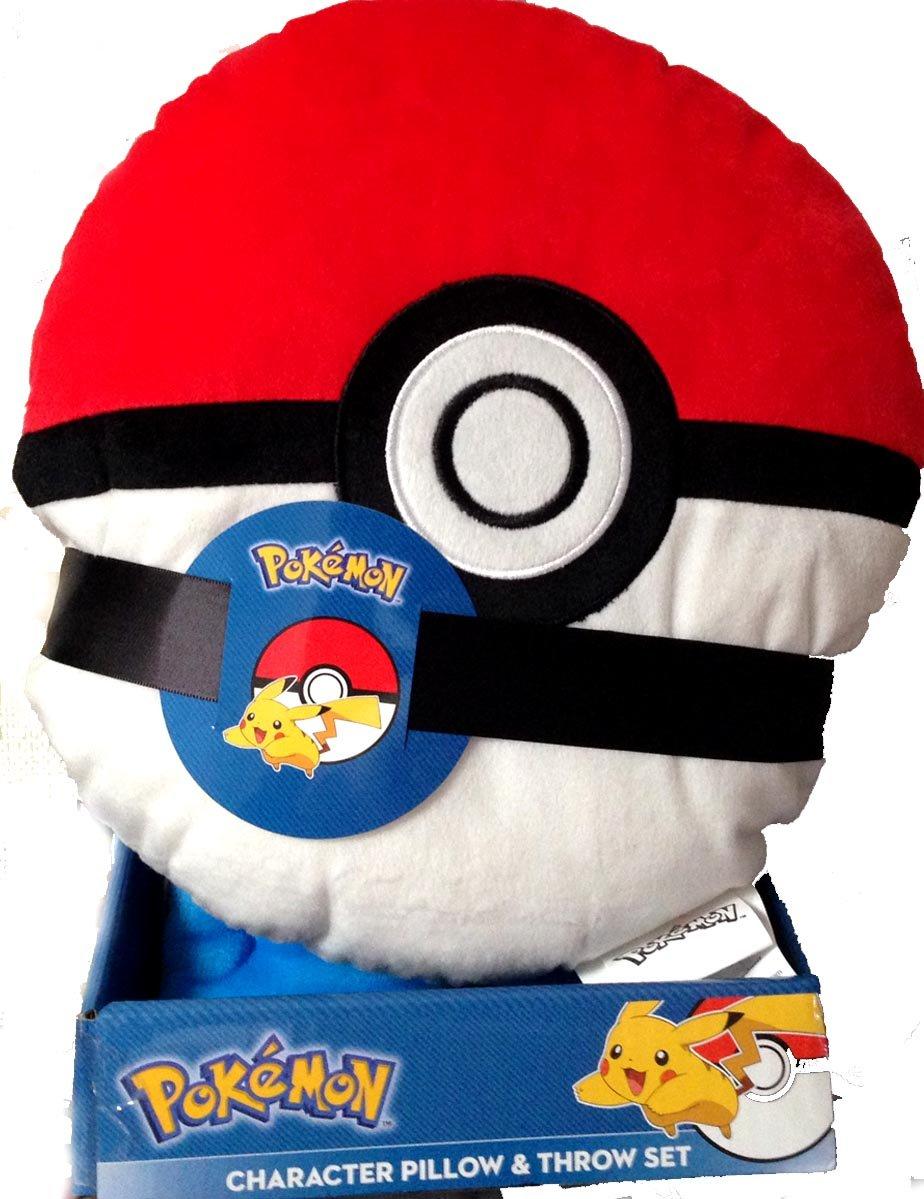 Pokemon Pokeball Character Pillow Blanket Set The Northwest