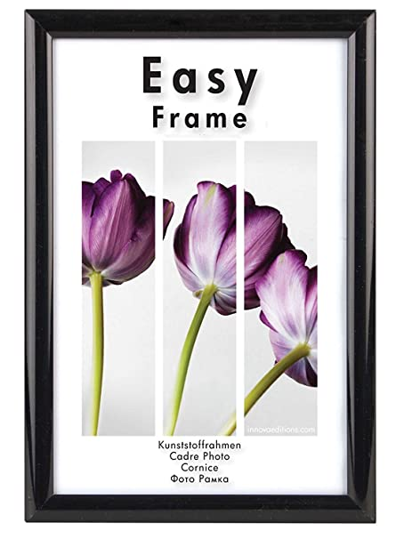 Innova Editions 24 x 30 cm/ 12 x 9-inch Easy Frame, Black: Amazon.co ...