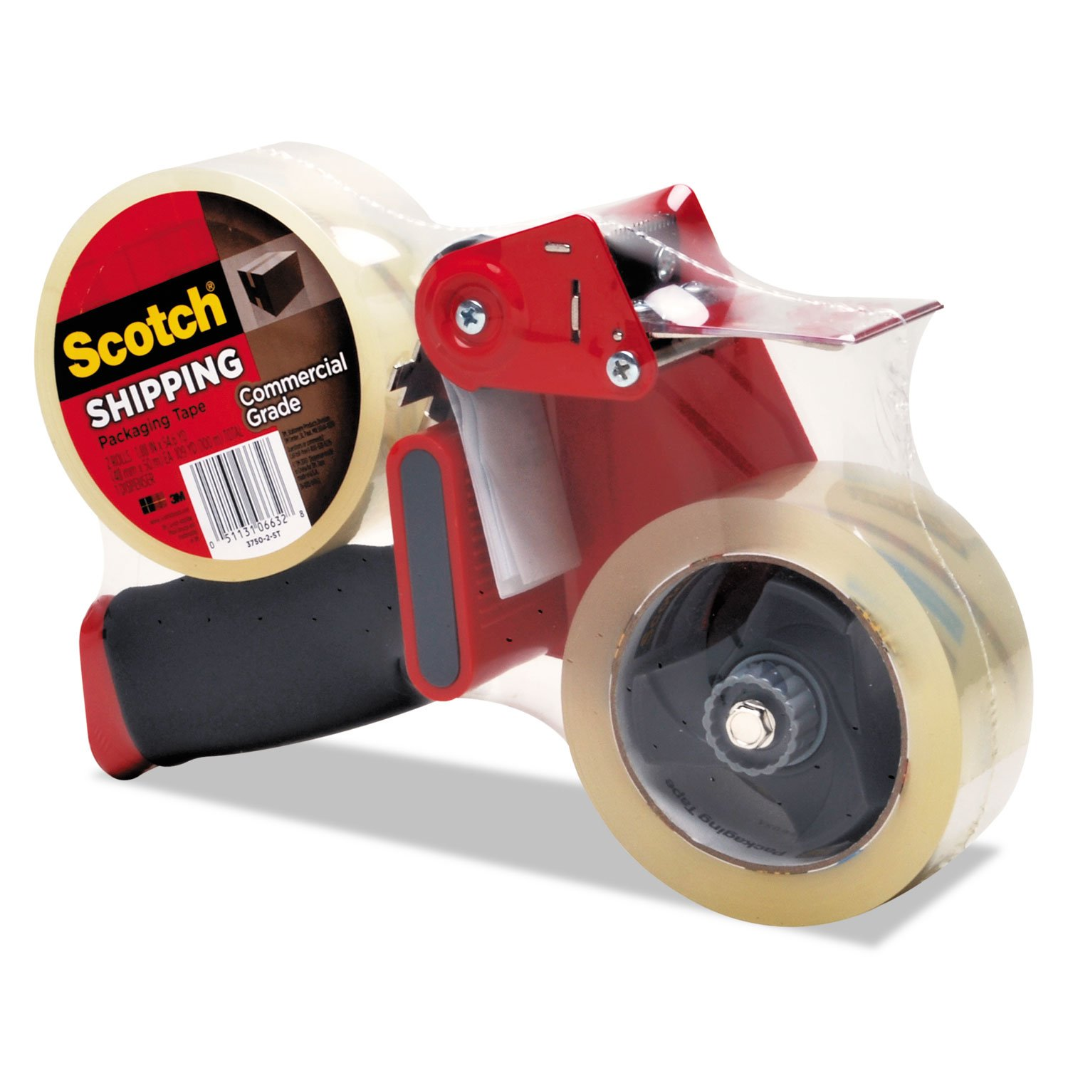 MMM37502ST - Packaging Tape Dispenser with 2 Rolls of Tape