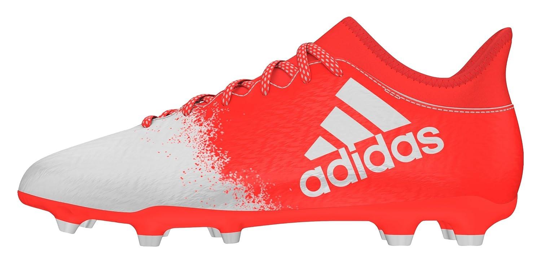 adidas Damen X 16.3 FG W Fußball-Trainingsschuhe Rot (Solar Red/Ftwr White/Solar Red)