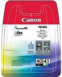 CANON Multipack Jet d'encre Original PG-40/CL-41 Blist Noir et couleur