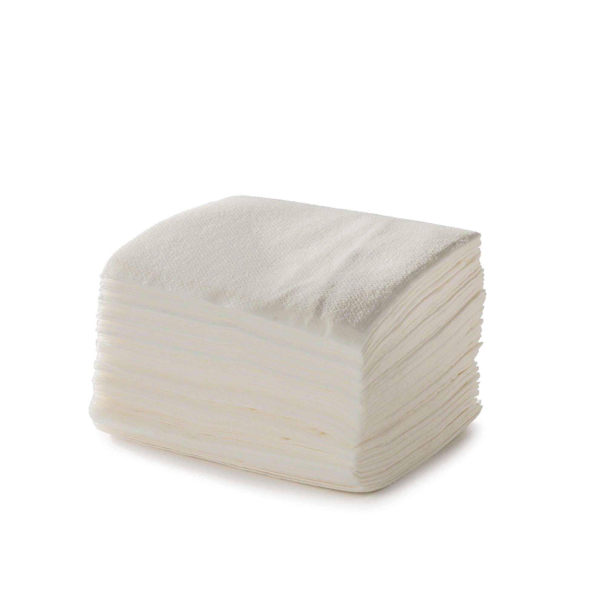 Disposable Washclothes, Airlaid, 10''x13'', White