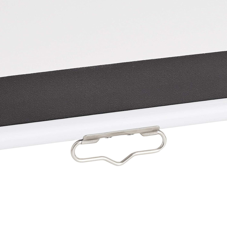 287 cm Basics Projektor-Leinwand 1:1 manuell ausziehbares Rollo 4K//8K Ultra HDR 3D Ready 113 Zoll