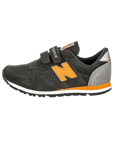 new balance gris noir orange