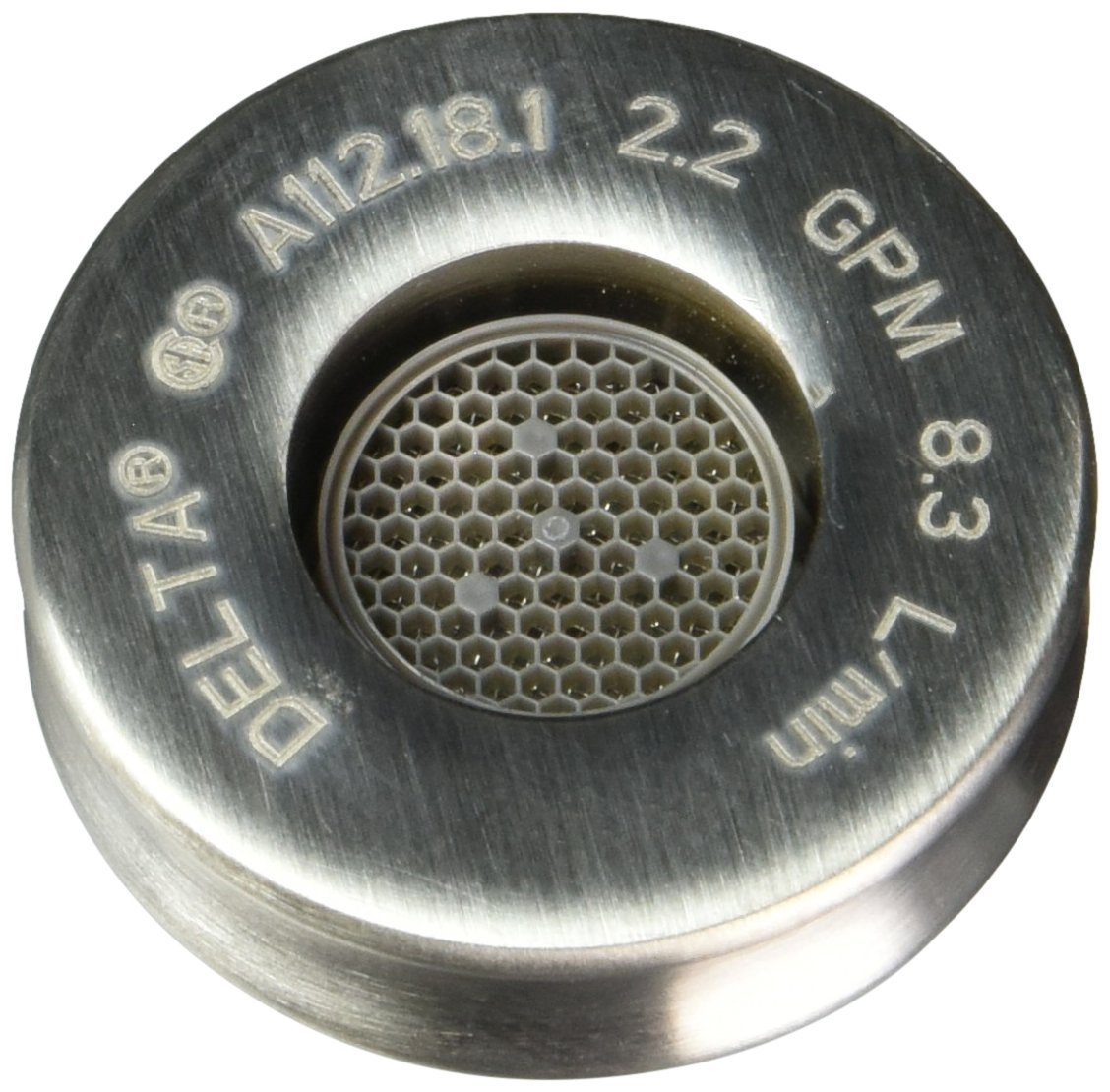 Delta Faucet RP48938SS Aerator, Stainless