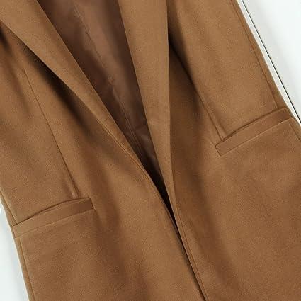 07bfc8e63d73b Makeupstore Women s Spring Sleeveless Waistcoat Vest