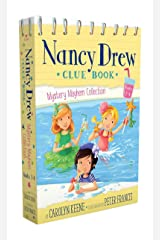Nancy Drew Clue Book Mystery Mayhem Collection Books 1-4: Pool Party Puzzler; Last Lemonade Standing; A Star Witness; Big Top Flop Paperback