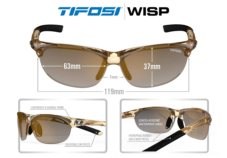 4b919ced55 Amazon.com  Tifosi Womens Wisp T-I905 Dual lens Sunglasses