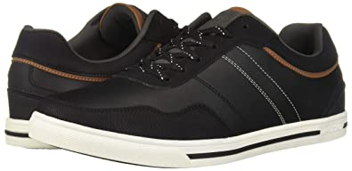 ALDO Men s NYDAOWEN Sneaker Black Leather 7 ... 5b8097cf658