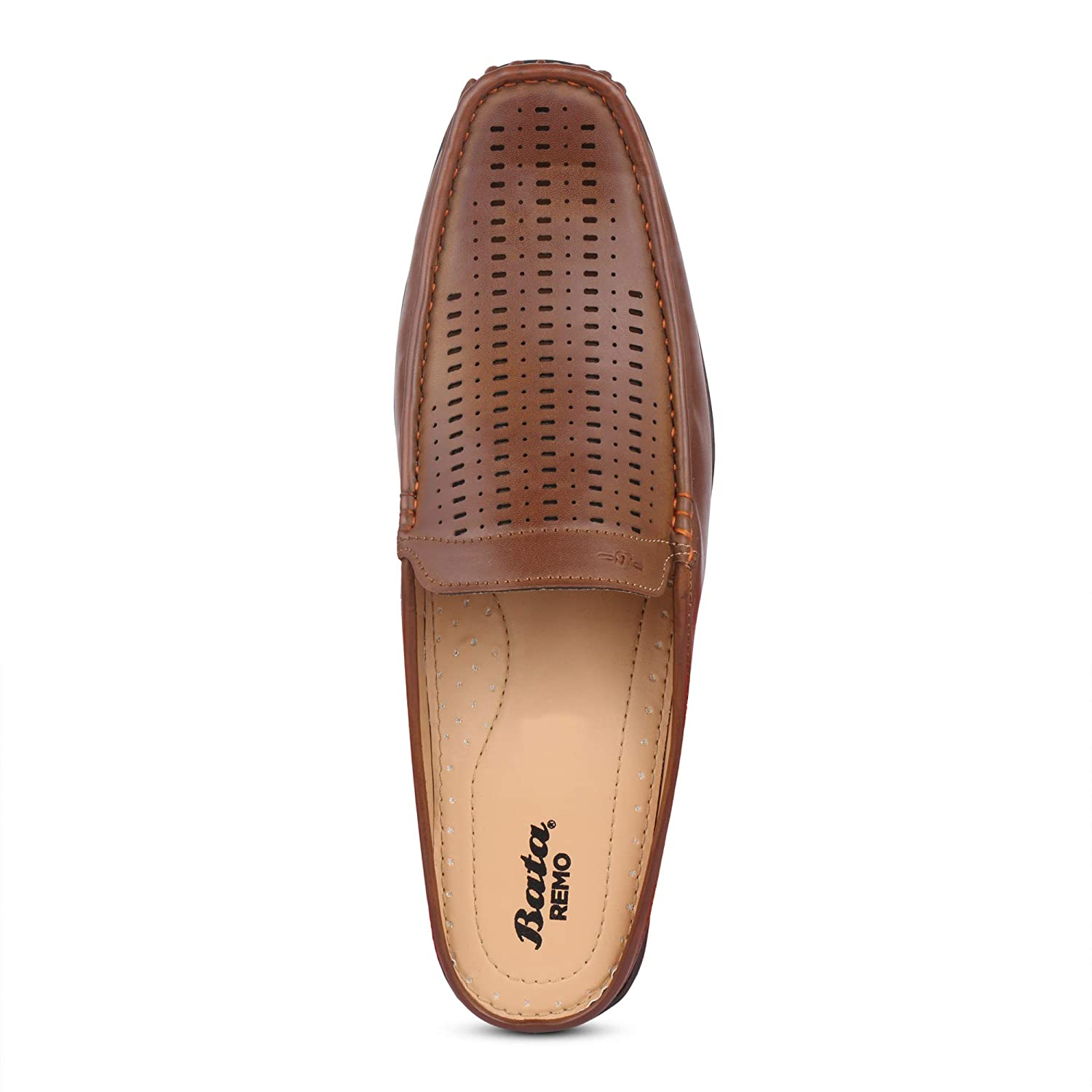 Remo Casual Slip On Loafers-Tan