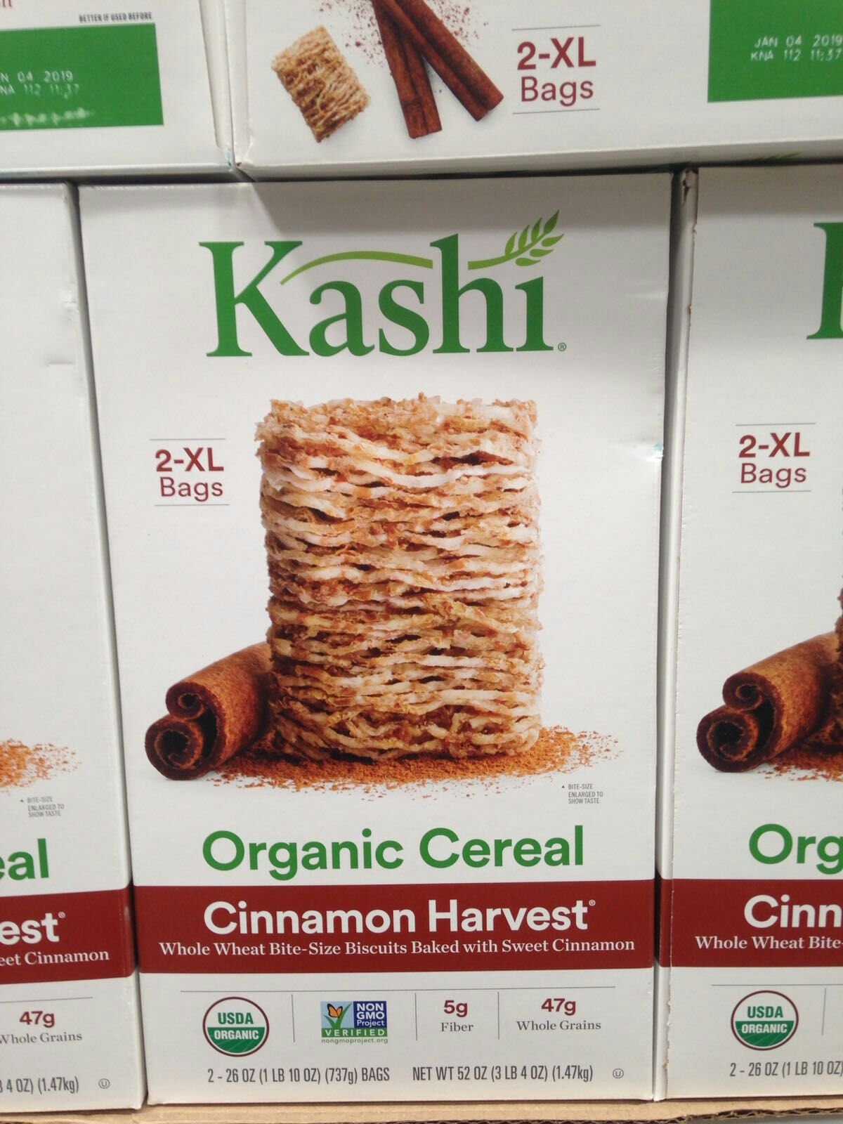 Kashi cinnamon harvest 52 oz. (pack of 6) A1