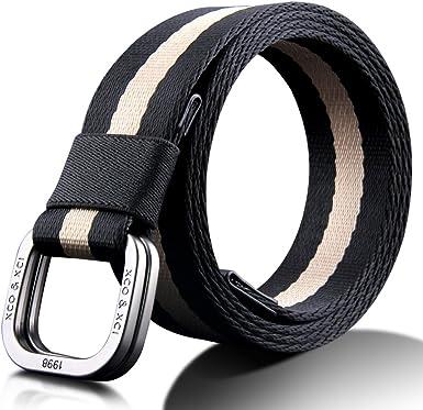 Cinturón de hombre Cinturón For Hombre Algodón Clásico Simple ...