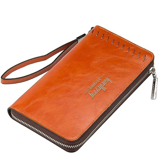 5 opinioni per Young & Ming- Grande Uomo Portafogli Men Wallet Handbag Vintage Style con 12