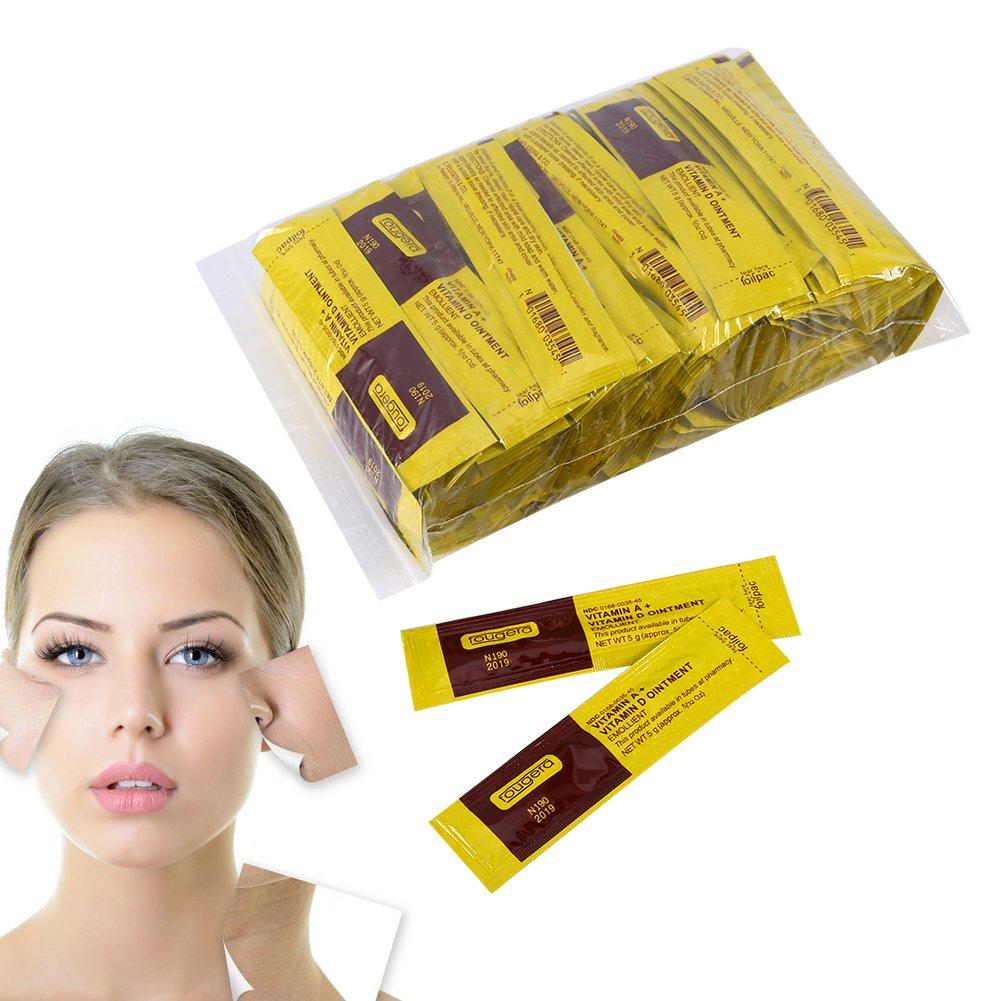 100Pcs/Set Professional Anti-Scar Tattoo Makeup Aftercare Repair Healing Cream Vitamin Ointment